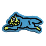 RUNNING DOG PILLOW CYAN