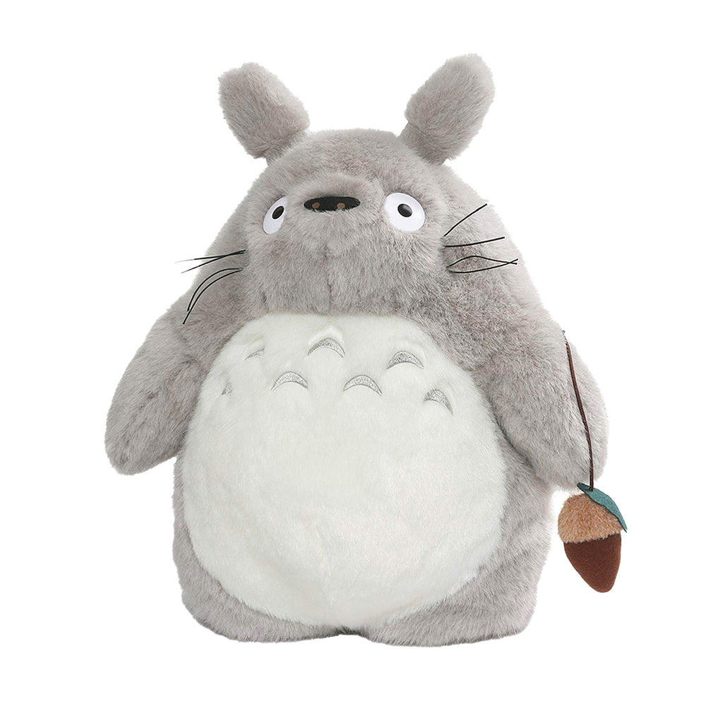 "15.5"" GRAY TOTORO PLUSH BACKPACK ""MY NEIGHBOR TOTORO"""