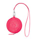LEATHER COIN POUCH / PINK / O/S
