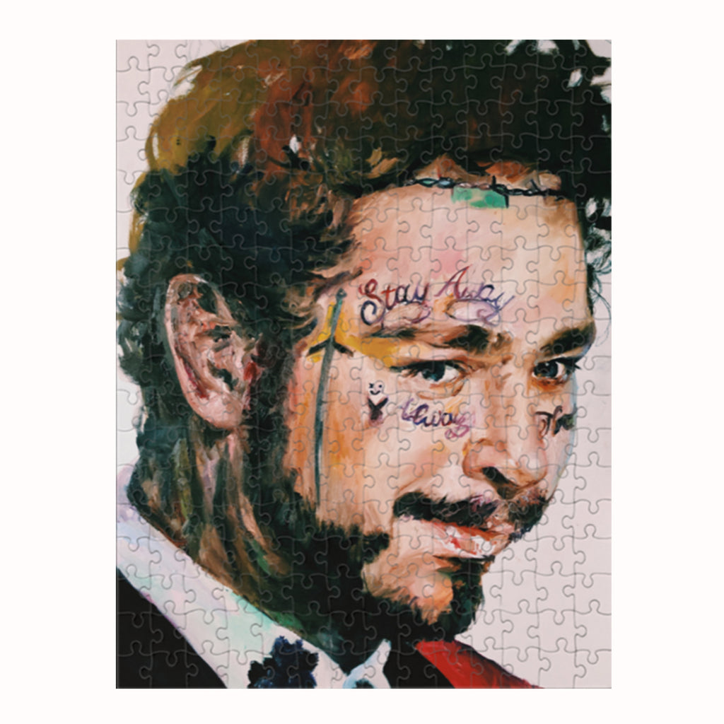 POST MALONE PUZZLE by MARIELLA ANGELA