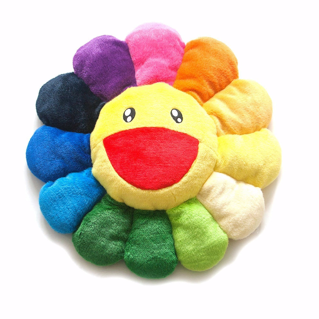 Murakami Flower Cushion 1M Rainbow