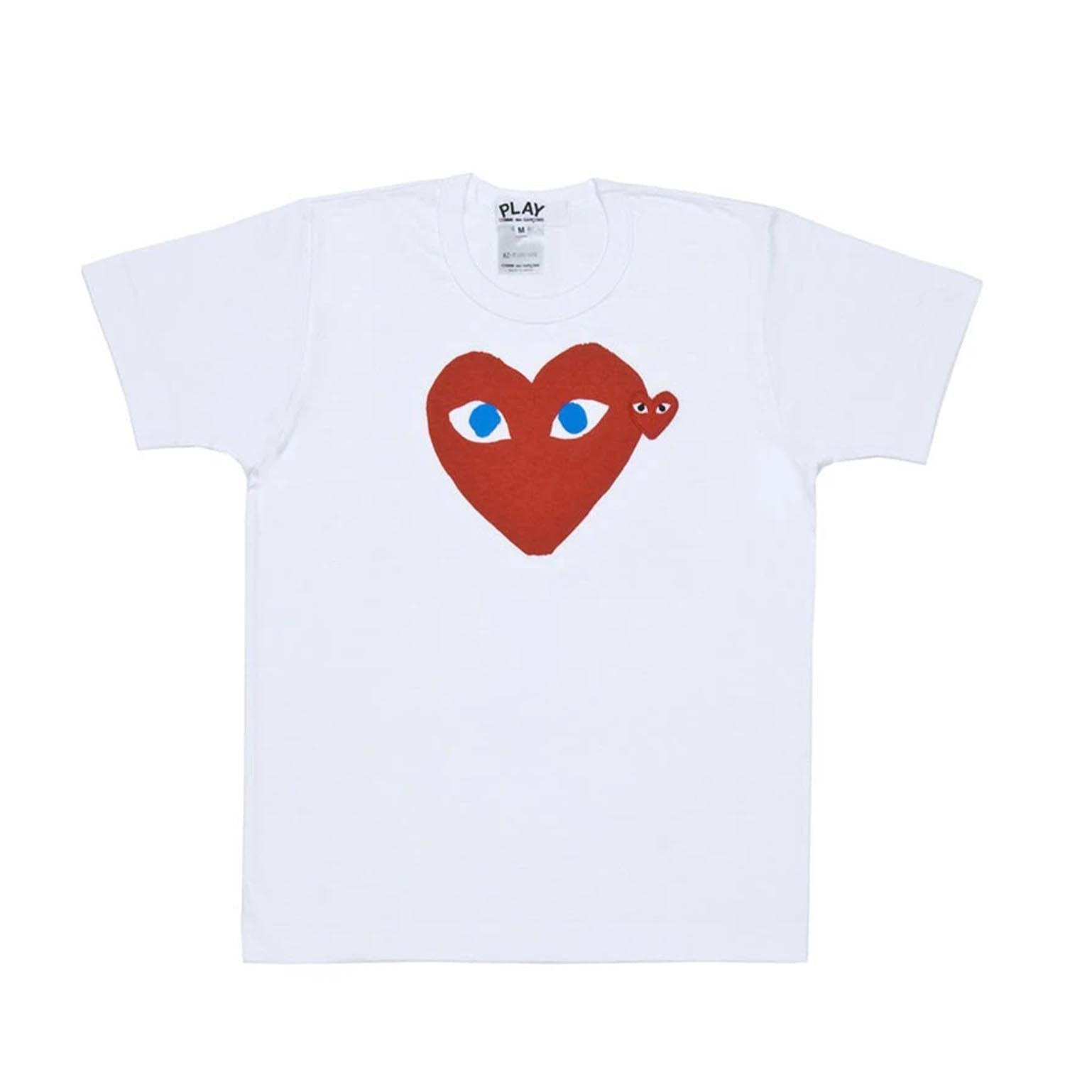 PLAY Red Heart Blue Eyed T-Shirt