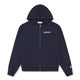 RUBBER PATCH ZIP THROUGH HOOD / NAVY / S