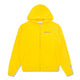 RUBBER PATCH ZIP THROUGH HOOD / YELLOW / S