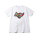 RUN DOG T-SHIRT / WHITE / S