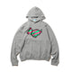 RUN DOG HOODIE / GREY / S