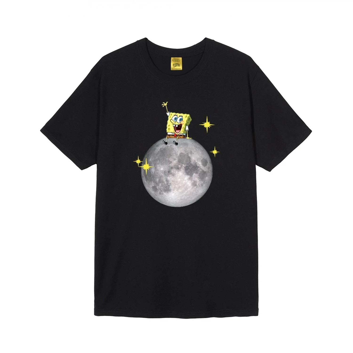 BBC X SPONGEBOB SPONGE ON THE MOON TEE