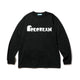 SKATING ICECREAM L/S T-SHIRT / BLACK / S