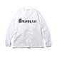 SKATING ICECREAM L/S T-SHIRT / WHITE / S