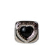 HEART COLLEGE RING / SILVER / 15