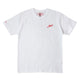 NH SQUAD / C-TEE SS / WHITE/RED / S
