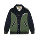TIGER VARSITY JACKET / GREEN / S