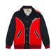 TIGER VARSITY JACKET / RED / S