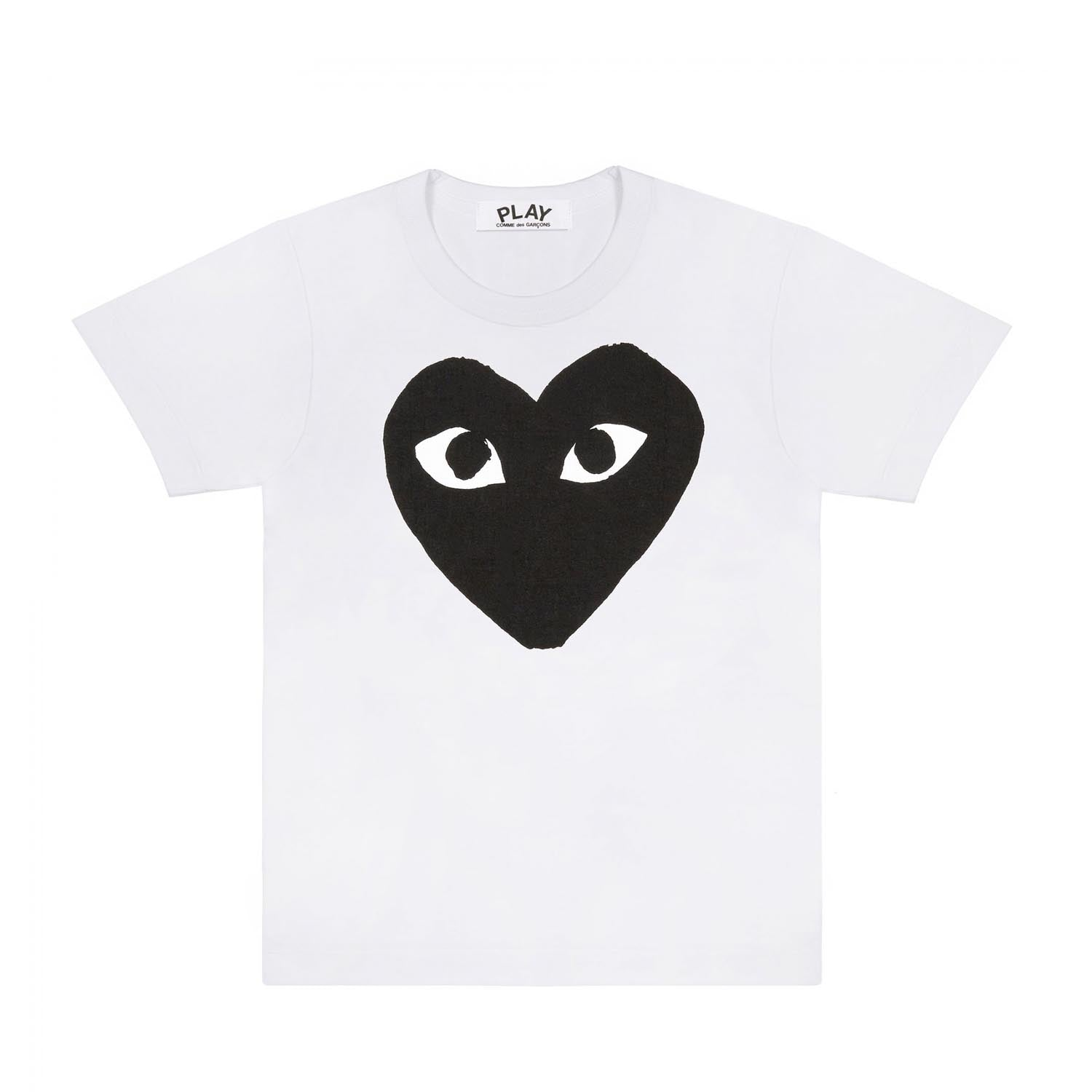 HEART-T-SHIRT WHITE