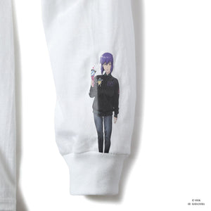 ICECREAM X GHOST IN THE SHELL MOTOKO KUSANAGI L/S T-SHIRT