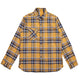 BETTER BUILT PLAID REVERSIBLE SHIRT / YELLOW / S