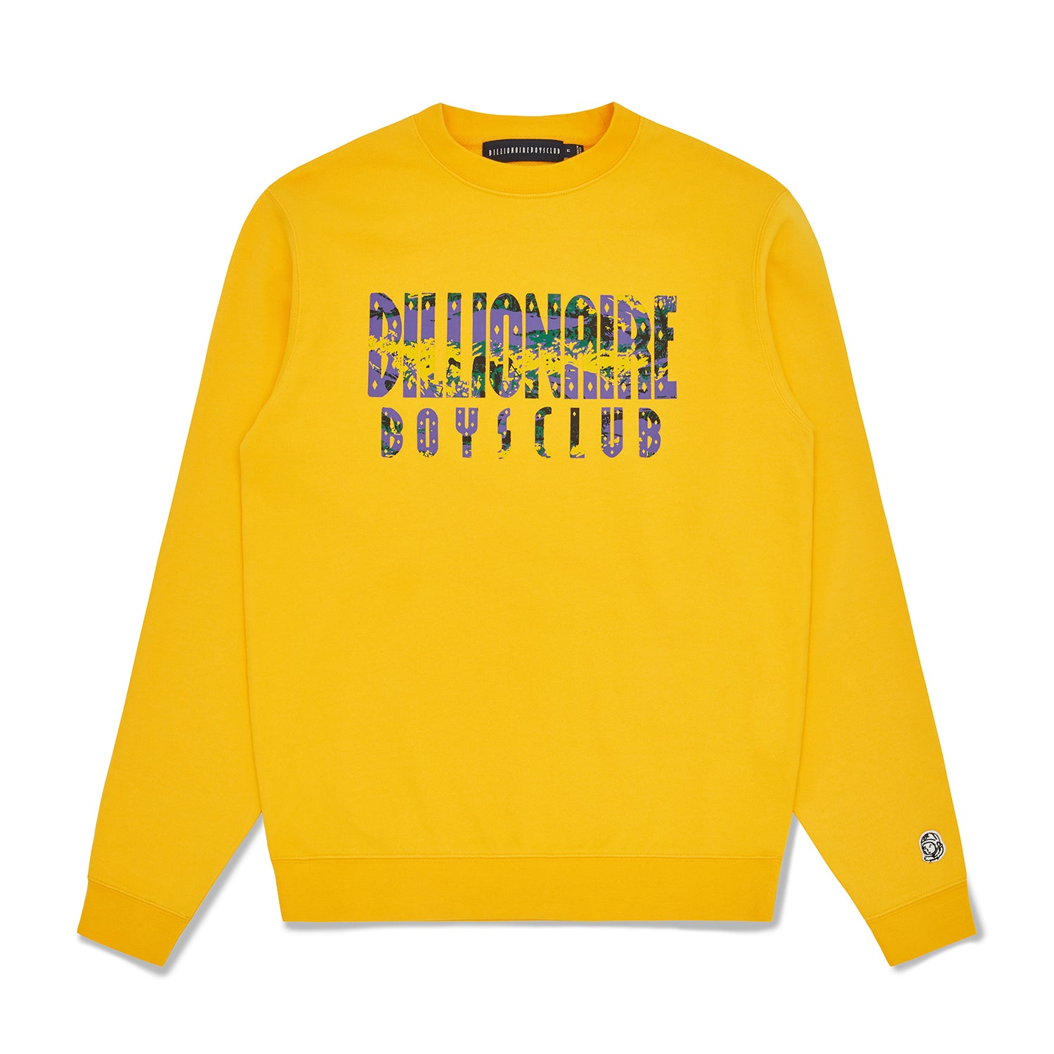 STRAIGHT LOGO FILL CREWNECK