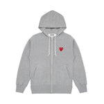 MULTI HEART FULL ZIP SWEATSHIRT
