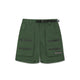 ZIP POCKET SHORTS / GREEN / S