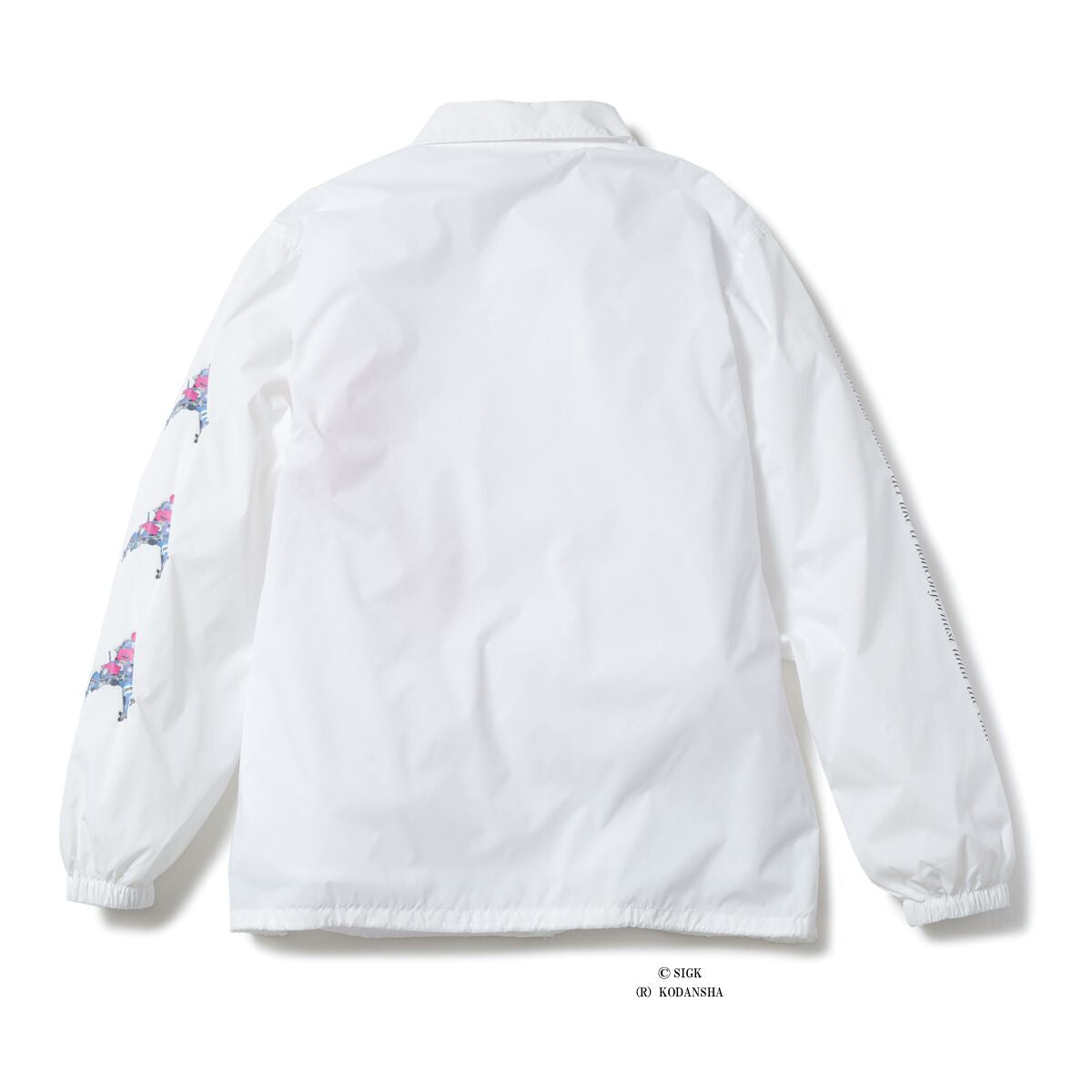 ICECREAM X GHOST IN THE SHELL TACHIKOMA COACH JACKET