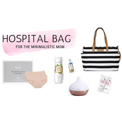 Mums & Bubs White Elm Hospital Bag - What to Pack!