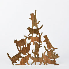 wooden cat stacking set game valentines day gift guide 2018 white elm