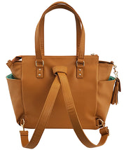 Gemini Convertible Backpack - Amber Brown