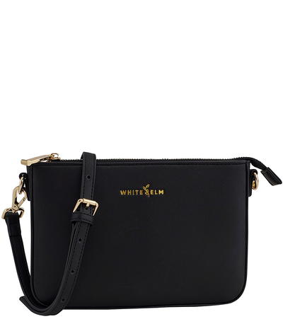 Ara Convertible Crossbody Clutch - Black