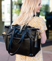 Gemini Convertible Backpack - Black