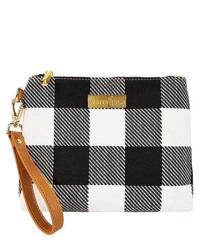 Aquila Clutch Bag - Buffalo Check