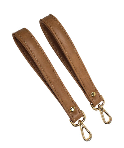 white elm vegan leather clasp stroller straps for diaper bags