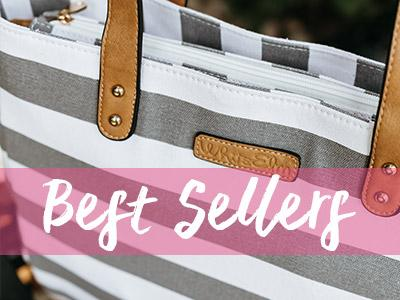 white elm bags best sellers gray arrows stripes aquila weekender diaper bags