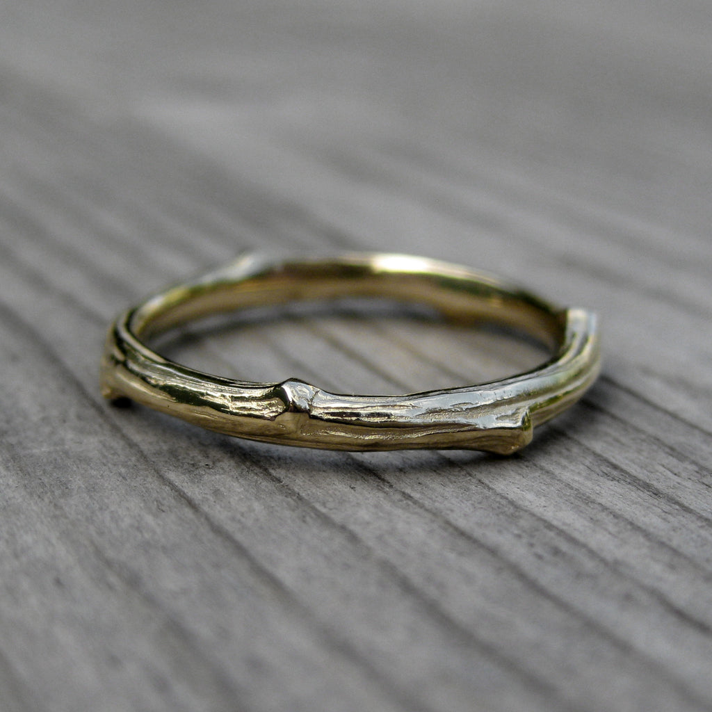 <center><strong>・YELLOW GOLD TWIG BAND・</strong><br></center>