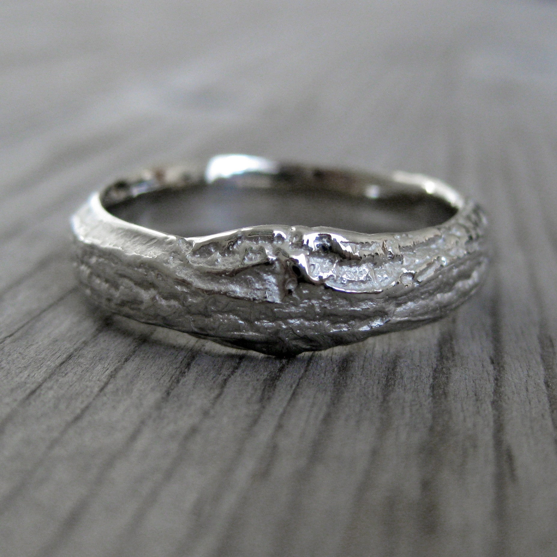 branch wedding ring twig amp branch wedding band set kristin coffin jewelry 2055