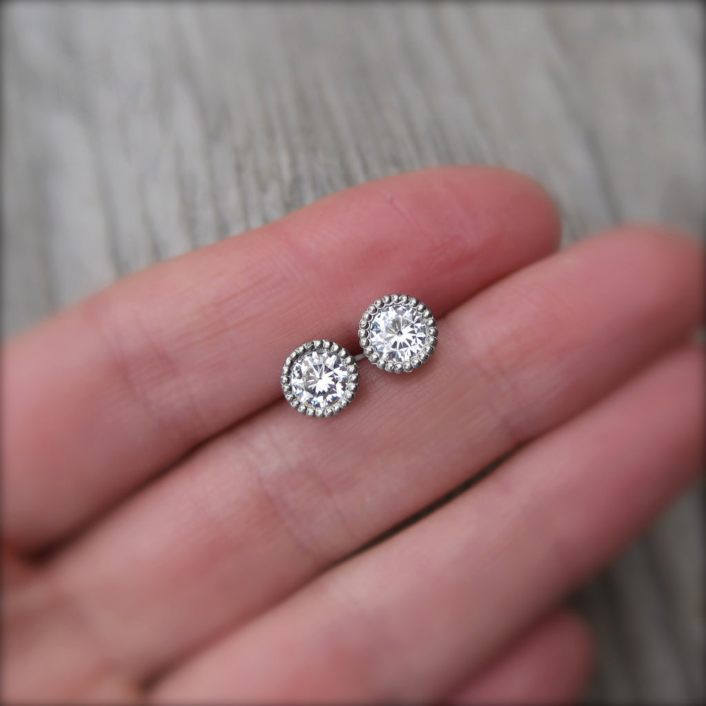 Forever One™ Moissanite Stud Earrings (1ct)