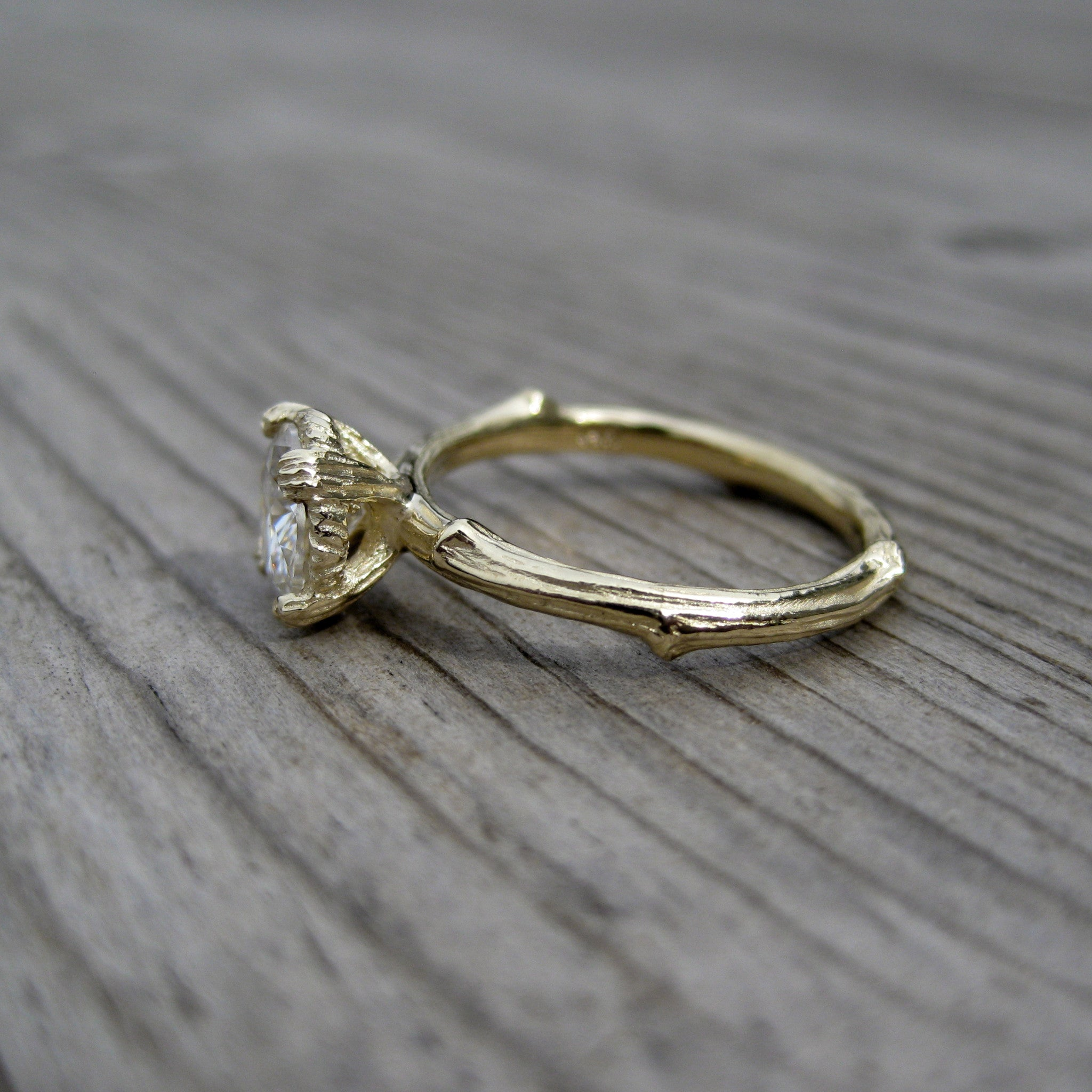 pave and gold set band prongs rings wedding custom tulip diamonds white engagement micro karat new prong jersey mounting with