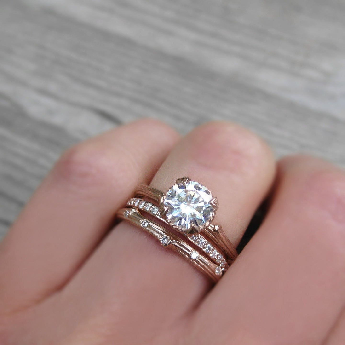 pavé diamond wedding band canadian diamonds