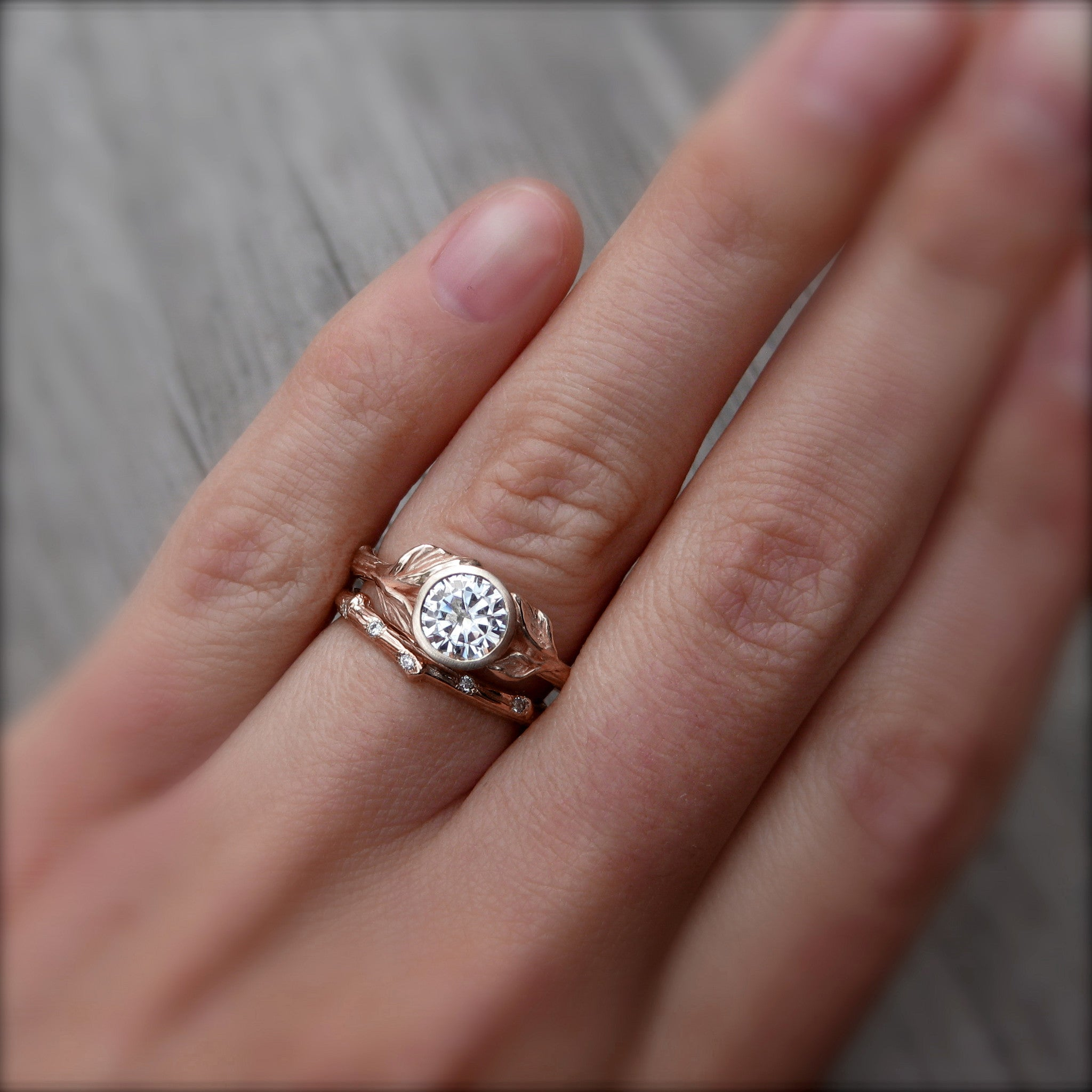 new only h ring vintage collection best engagement settings jewellery of