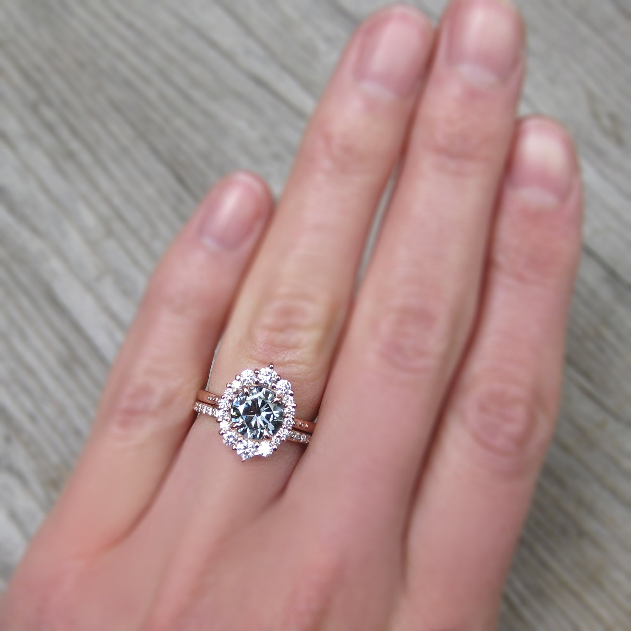 moissanite wedding band - Wedding Decor Ideas