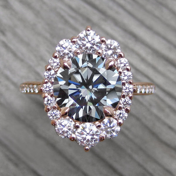Moissanite Rings By Kristin Coffin Jewelry