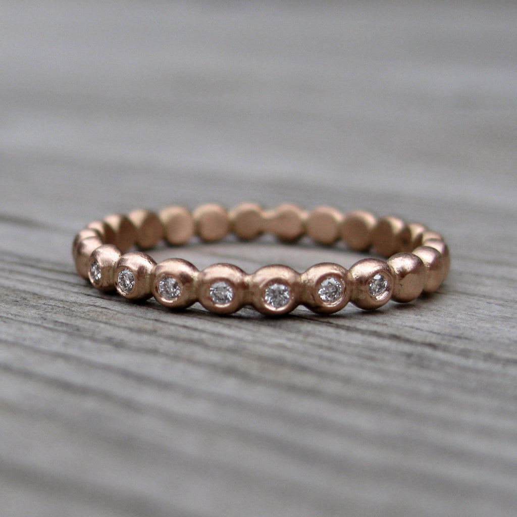 Diamond Seedling Band (Ready to Ship, size 5.5)