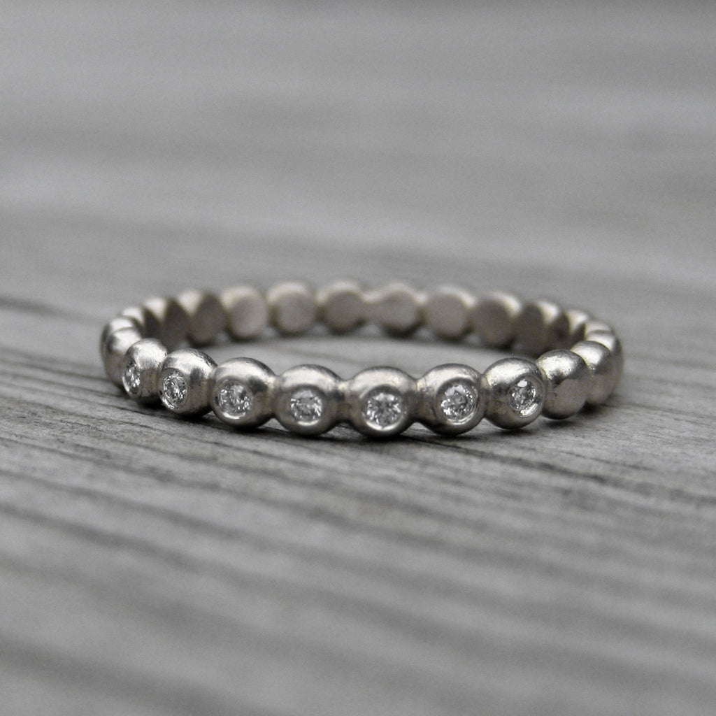 Diamond Seedling Wedding Band