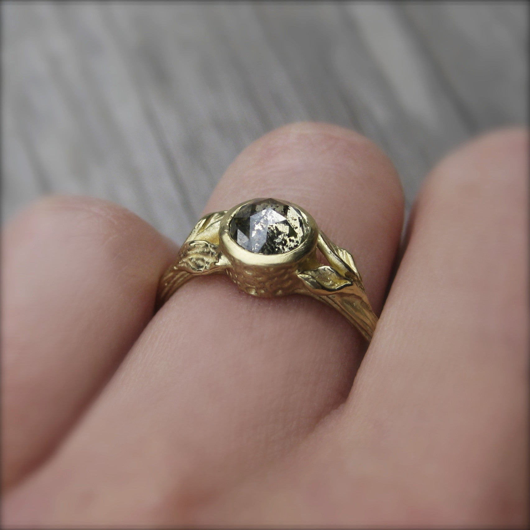 50 carat moissanite double claw round solitaire engagement ring in 14k yellow gold build a wedding ring 50 Carat Moissanite Double Claw Round Solitaire Engagement Ring in 14k Yellow Gold See Build