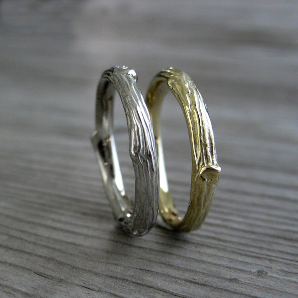 Branch Wedding Band (Ready to Ship, Size 7)