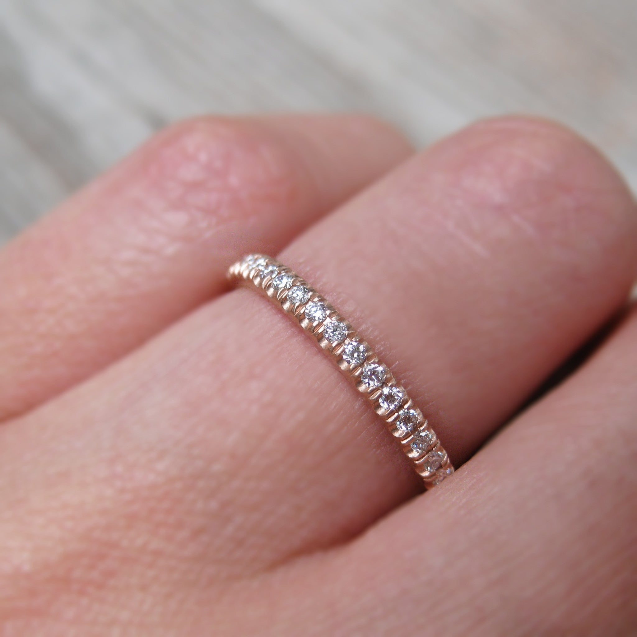 fancy pink engagement eternity row diamond band bands ring argyle wedding