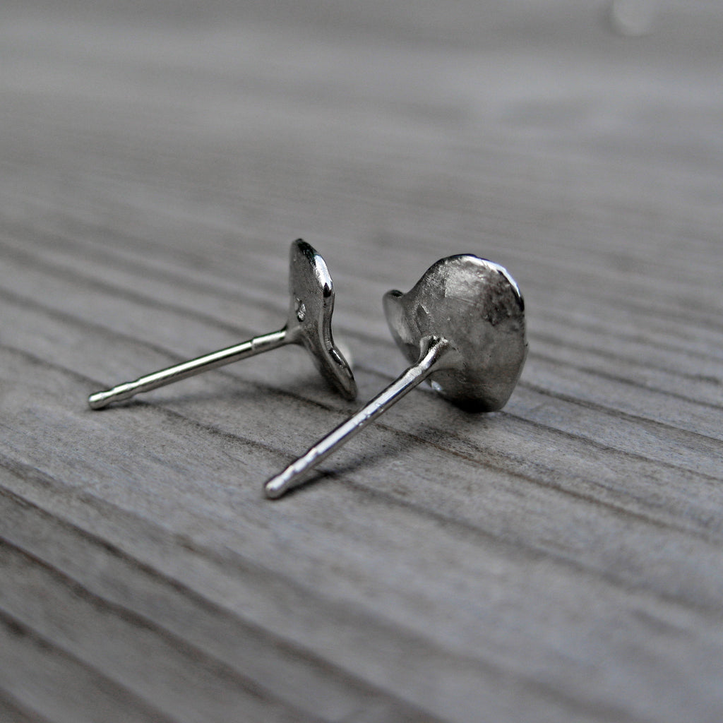 Petal Diamond Stud Earrings | Kristin Coffin Jewelry | SALE