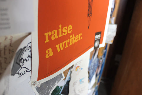Poster: Raise A Writer