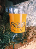 826 Boston Logo Pint Glass
