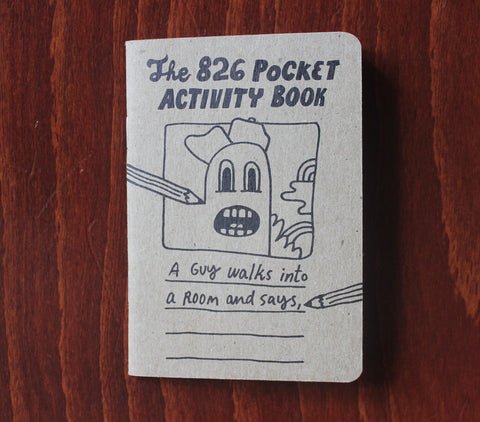 The 826 Pocket Activity Book