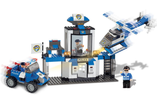 Police Rescue Team 10 in 1 By BricTek - Bloxx Toys - Toronto Online Toys Store - 2